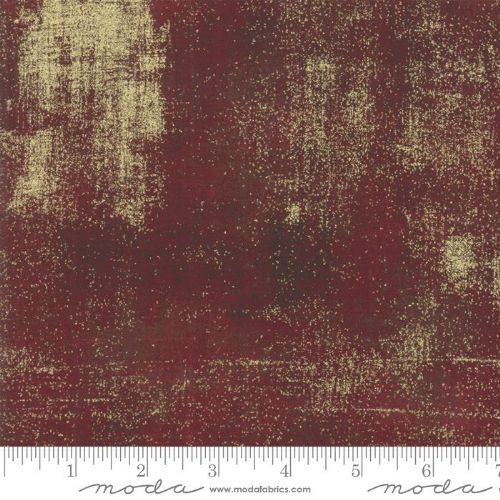 Grunge Metallic - Burgundy 297M